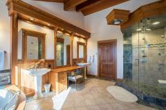 Photo of the Master Bathroom  at 1160 Fairway Woods Drive, Steamboat Springs, CO
