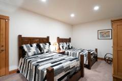 Photo of the New Lower Bedroom  at 1160 Fairway Woods Drive, Steamboat Springs, CO