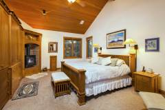 Photo of the bedrooms and bathrooms at 1160 Fairway Woods Drive, Steamboat Springs, CO