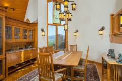 Photos of the dining room at 1160 Fairway Woods Drive, Steamboat Springs, CO