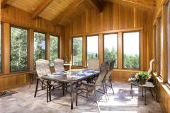 Photos of the sunroom at 1160 Fairway Woods Drive, Steamboat Springs, CO