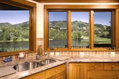 Photos of the kitchen in 1160 Fairway Woods Drive - Kitchen with Ski Mtn Views