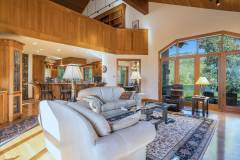 Living Area and Kitchen at 1160 Fairway Woods Drive